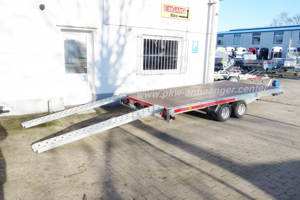 Temared CarPlattform Autotrailer 2700kg 400x215cm