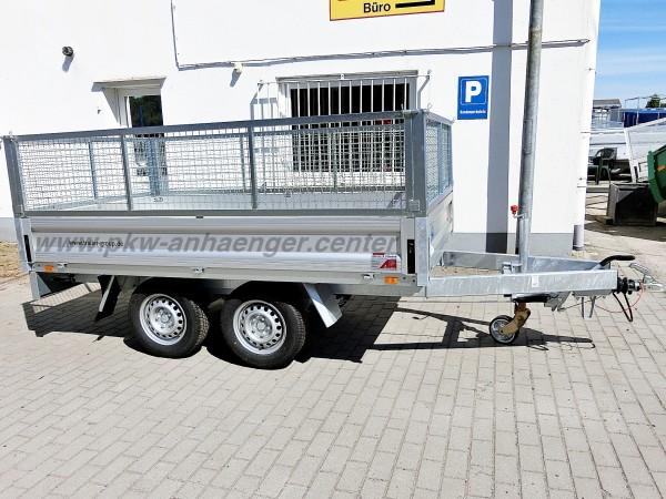 UNSINN WEB22 276x150x85cm 2000kg Pritschenhochlader mit Gitteraufsatz