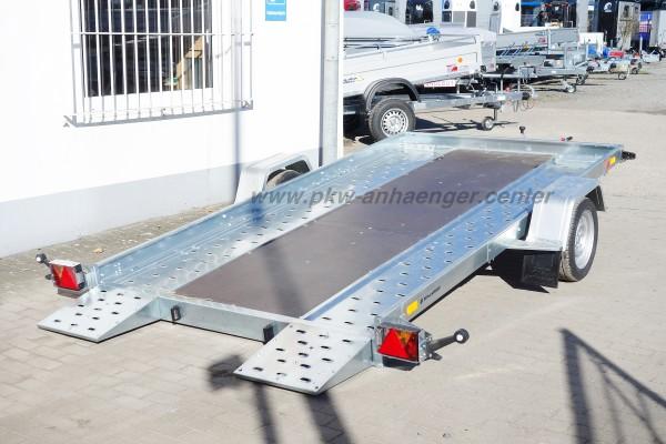 Temared Carflat 3518U mit Holzboden mittig 1500kg