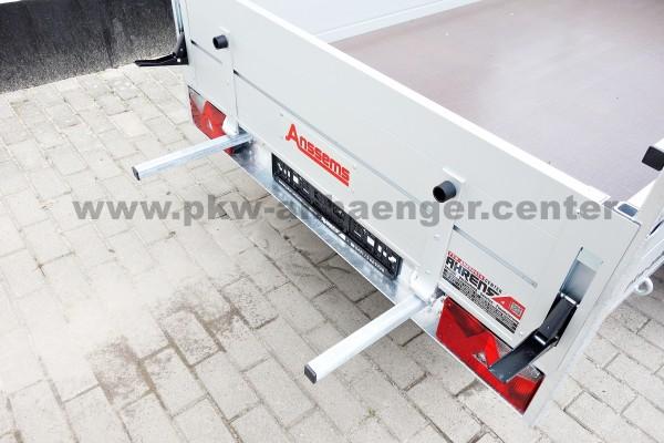 Anssems BSX 750 251x130 Aluanhänger mit Stahlrahmen