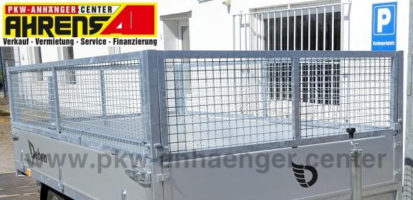 Gitteraufsatz für Temared Hochlader 320x170cm