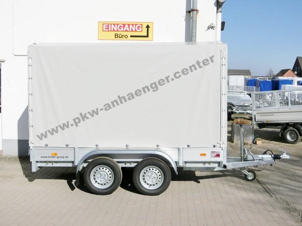 Planenanhänger HAPERT AZURE L2 2000kg Alu 300x150x180cm