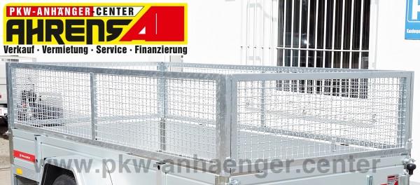 Laubgitteraufsatz für Temared ProBreak Stahl 295x150cm