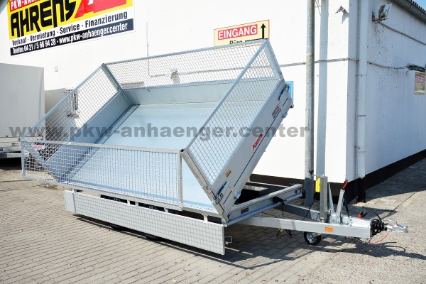 Anssems KSX 2500 305x178E Gitteraufsatz E-Hydraulik Dreiseitenkipper