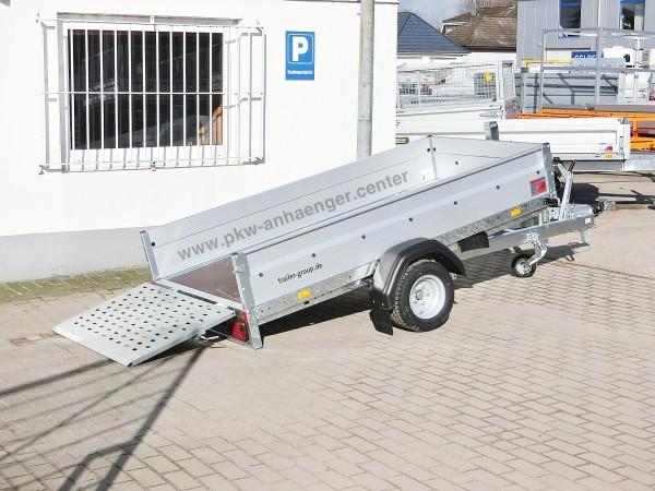 ankippbarer Pkw Anhänger Stema MUT 1300kg 251x128x35cm 100km/h