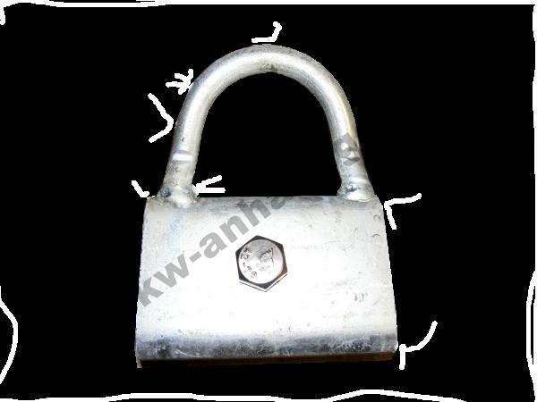 Anbindering C-Profilschiene für Cheval Liberte Minimax & Optimax