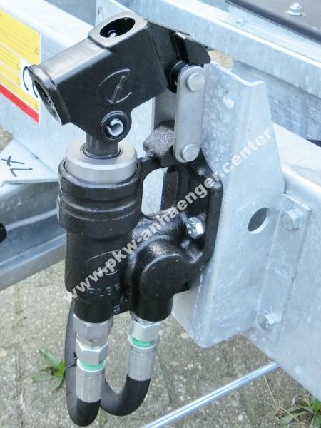 Nothandpumpe zu E-Hydraulik für Hapert Kipper
