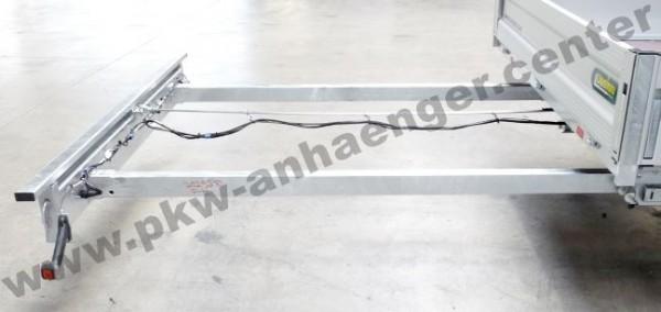 Heckleuchtenträger 200cm rausziehbar für Unsinn LM-Langmaterialanhänger