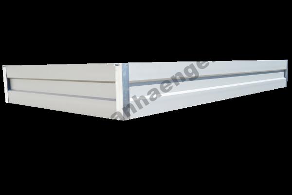 Bordwandaufsatz Alu 35cm für PKW-Anhänger im Innenmaß ca. 250x130cm