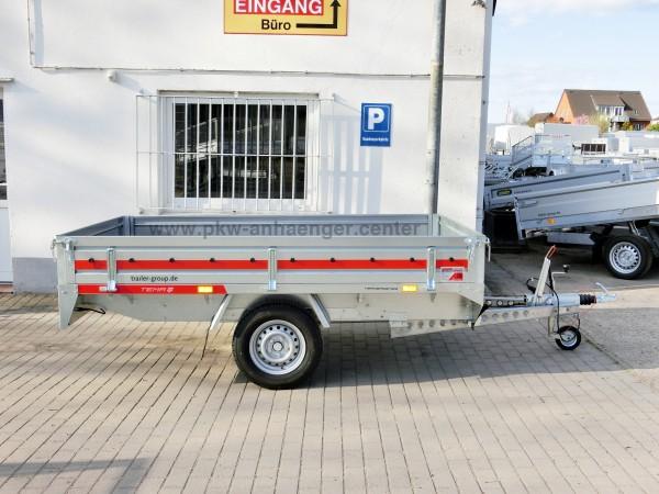 Hochlader TEMARED 1300kg Stahl 250x150x30cm