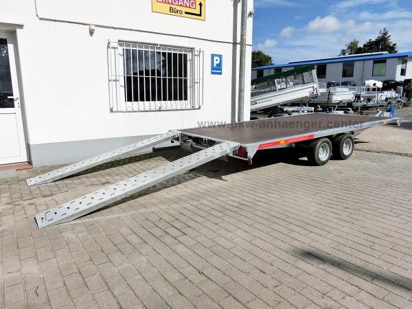 Autotransportanhänger Trailer Temared Carplattform 4020S 2700kg