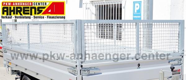 Gitteraufsatz für Hapert Azure Hochlader 405x180cm
