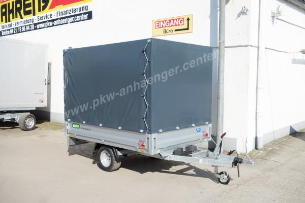 Planenanhänger Hochlader Unsinn WEB20 1350kg 230x150x160cm