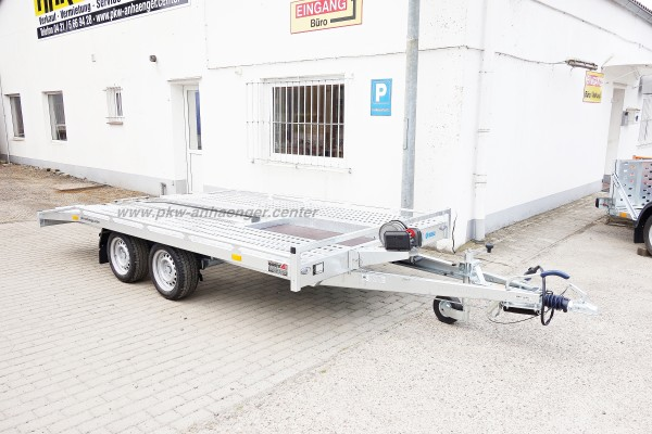 Mietanhänger Autotrailer 2700kg 400x200cm