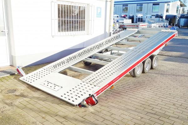 Autotrailer 3500kg Tridem 3 Achsen Temared Carkeeper 48203S 480x207cm