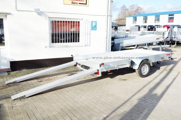 Anssems AMT 1200 340x170 Autotrailer mit Aluboden für Kleinfahrzeuge