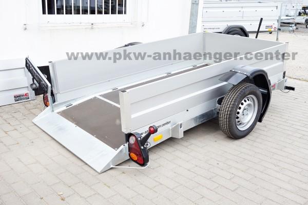 Vezeko Husky 750kg 240x126x45cm Aufsatz Absenkanhänger