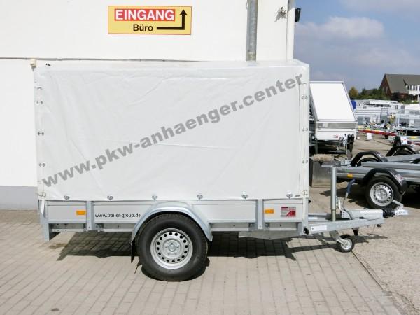 Planenanhänger HAPERT AZURE L1 1350kg Alu 250x130cm