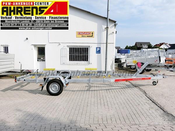 Bootstrailer TEMARED 1800kg für Boote bis ca. 7m