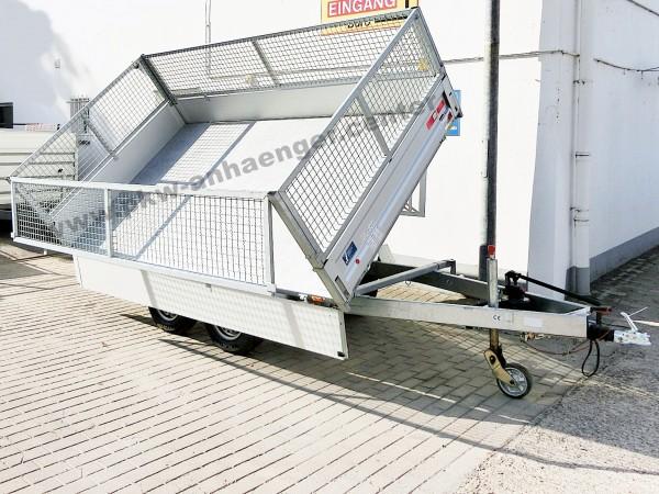Dreiseitenkipper Unsinn WEB34 2600kg Gitteraufsatz