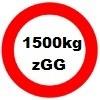 1500kg Gesamtgewicht statt 1350kg