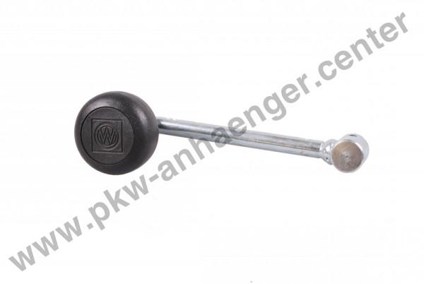 Stützradkurbel Winterhoff 15mm für Anhänger