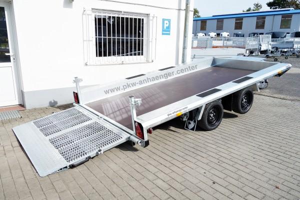 Baumaschinenanhänger Hapert INDIGO LT 2 3500kg 410x184cm