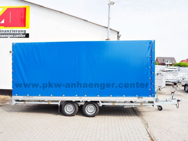 Hulco MEDAX-2 2600kg 5x2x2m Planenanhänger Hochlader