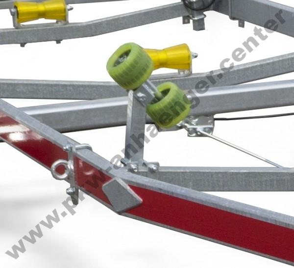 Doppelsliprolle für Temared Bootstrailer