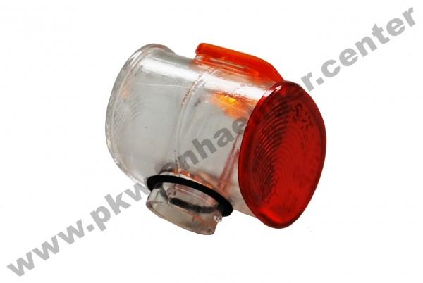 Lichtscheibe für Aspöck Superpoint II rot/weiß links/rechts