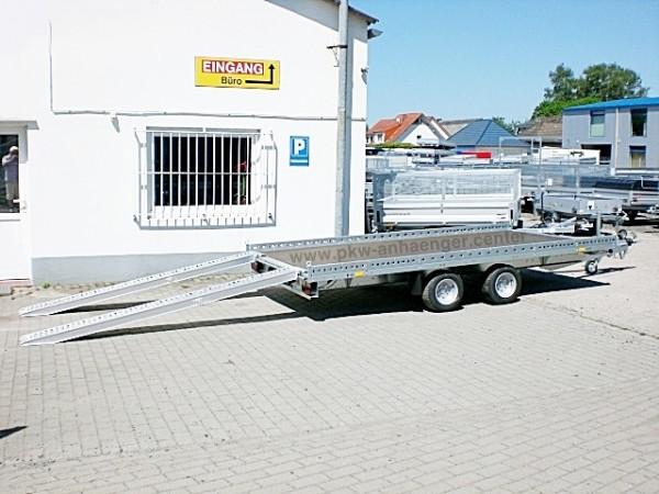 Autotrailer Stema Carrier XL 2700kg 401x203cm