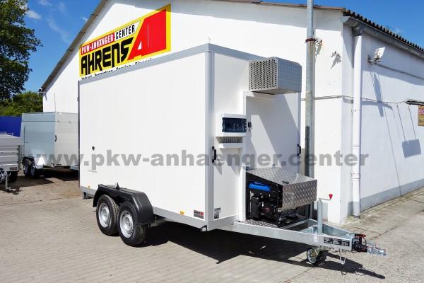 Unsinn KIK3036-14-1750 3000kg 366x175x190cm -18°c Tiefkühlanhänger mit Fahrtkühlung