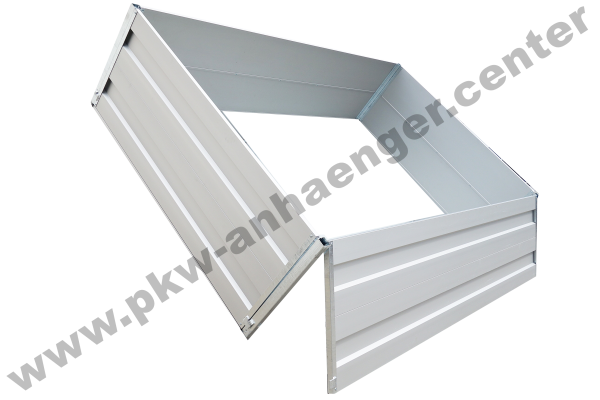 Alubordwandaufsatz 70cm für Hapert COBALT und AZURE 305x160cm