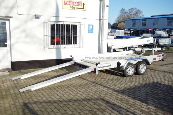 Anssems AMT 1500 340x170 Autotrailer mit Aluboden für Kleinfahrzeuge