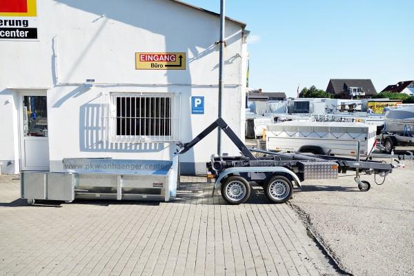 Absetzmuldenanhänger KONOS Container Anhänger 3500kg