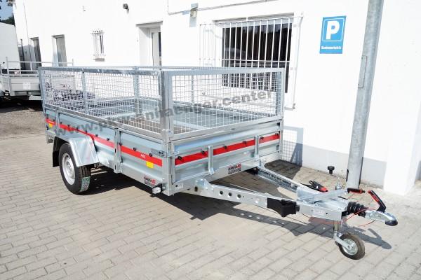 Temared Anhänger Gitteraufsatz 1300kg 3x1,5m gebremst