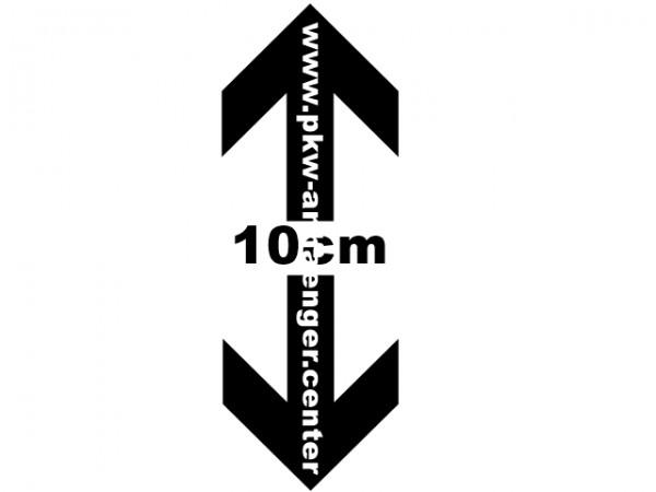 Planenaufbau 10cm höher als Serie