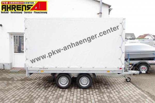 HAPERT AZURE H2 2t 335x180x180cm Hochlader Planenaufbau mit Satteldach