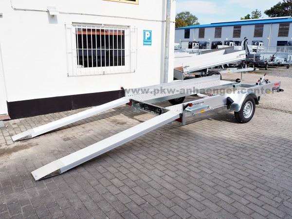 Anssems AMT 1300 340x180 ECO Autotrailer mit Aluboden für Kleinfahrzeuge