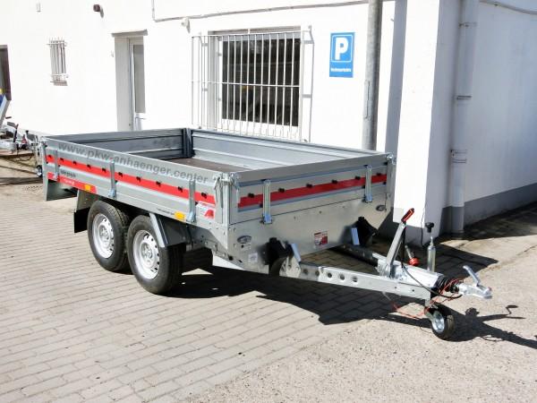 Hochlader TEMARED 2000kg Stahl 254x153x30cm