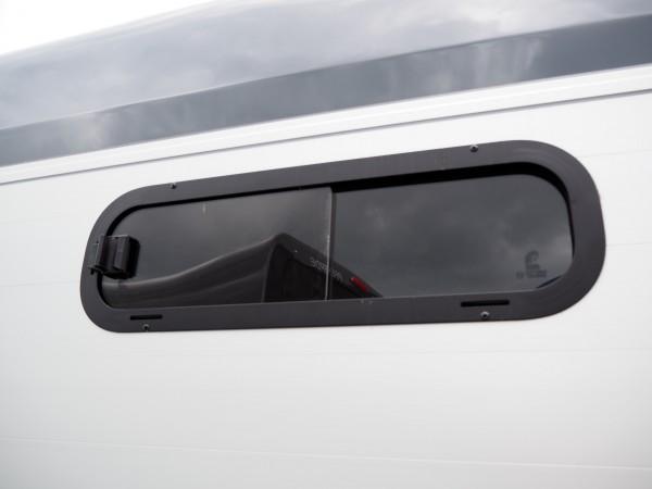 Seitenfenster links für Cheval Liberte GOLD3 Pferdeanhänger