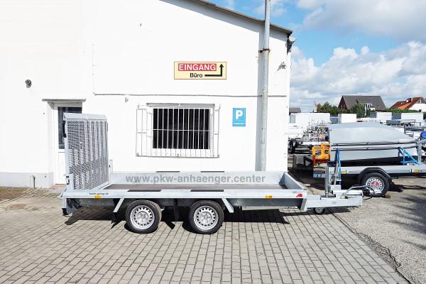 Baumaschinenanhänger 3000kg Hapert Indigo LF 2 360x174cm
