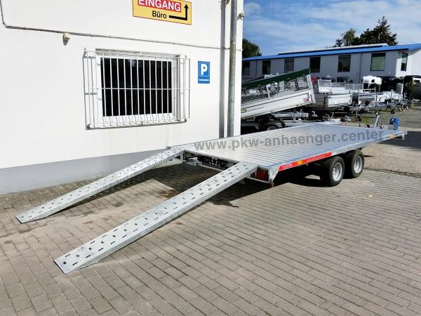Autotrailer TEMARED CarPlattform 4020S Aluboden 414x210cm