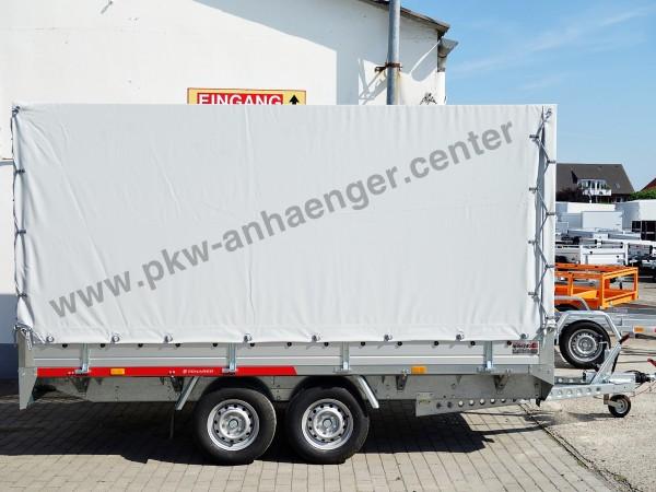 TEMARED 2000kg 360x170x180cm Planenanhänger Hochlader
