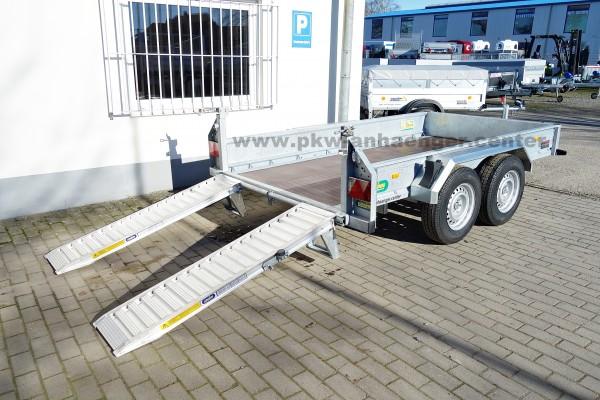 Baumaschinenanhänger Unsinn UBA 3030-14-1600 3000kg 306x160x35cm