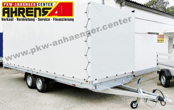 Planenanhänger Hochlader Hapert Azure H2 505x200x200cm 2700kg