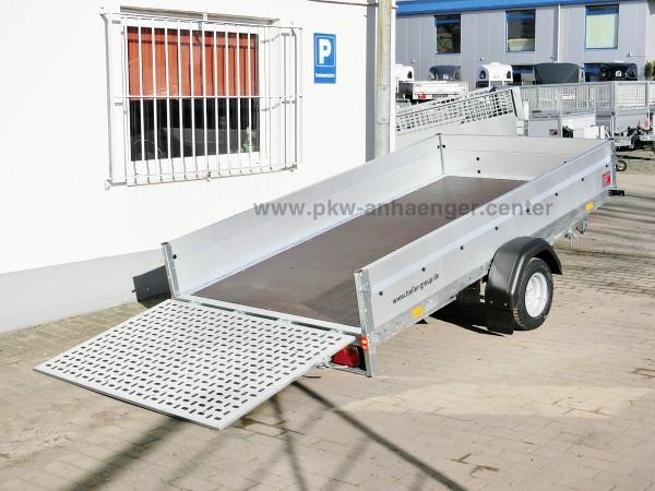 ankippbarer Pkwanhänger Stema MUT 1300kg 301x153x35cm