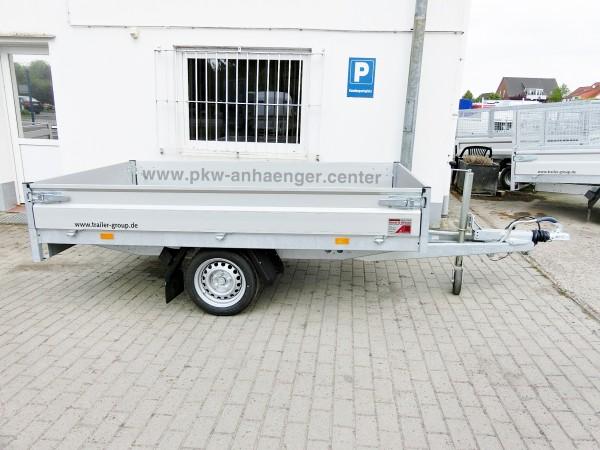 Einachshochlader Hapert 1350kg AZURE H 1 260x150x30cm