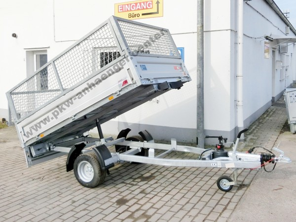 UNSINN WEB30 1350kg 230x150x85cm Gitteraufsatz Rückwärtskipper