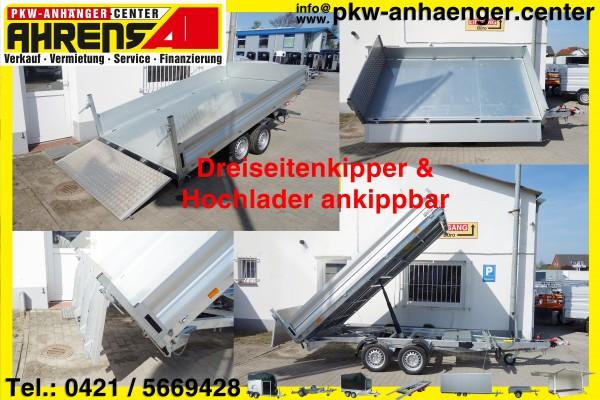 Kipper und Maschinentransporter Vezeko JUKI 3500kg